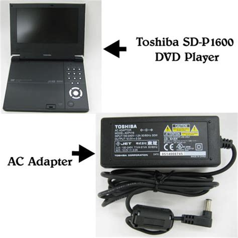 Ac Portable Toshiba toshiba us recalls ac adapters sold with sd p1600 portable