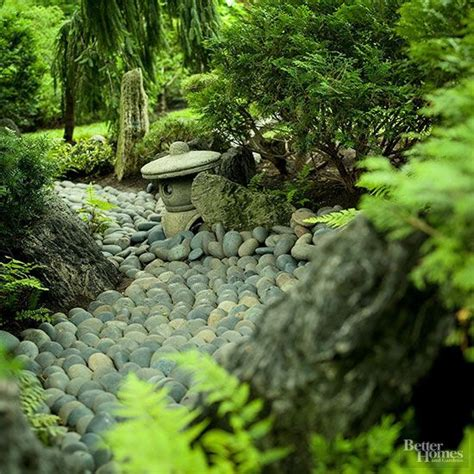Japanese Garden Rocks Japanese Gardens River Rocks And Evergreen On Pinterest