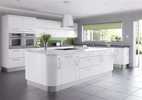 modern kitchen design 2014 shiny modern kitchen design 2014 with white gloss island