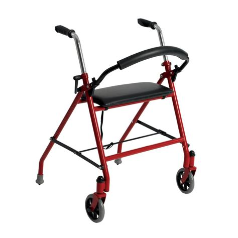 two wheeled walker with seat drive