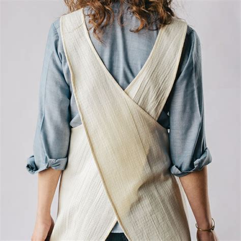 pattern cross back apron cross back apron natural aprons pinterest natural