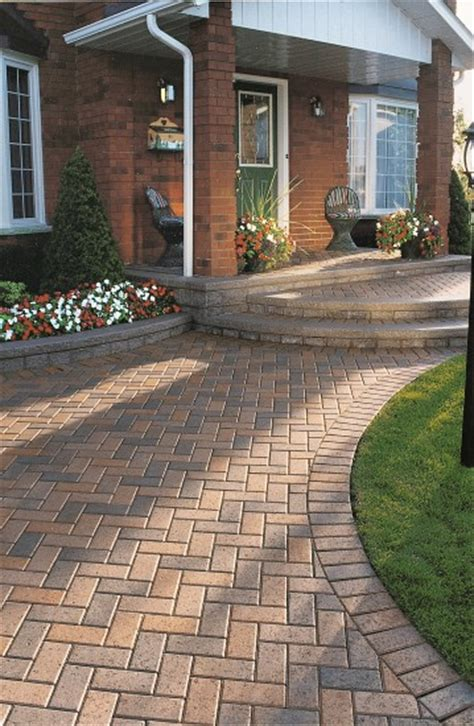 Unilock Concrete Pavers Unilock Concrete Pavers For A Relaxed Rustic Atmosphere
