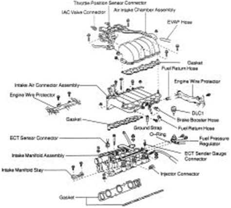 small engine service manuals 1993 toyota 4runner engine control toyota 4runner intake manifold diagram toyota free engine image for user manual download