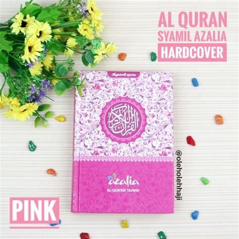 Alquran Al Quran Terjemahan Mushaf Wafa Hardcover A6 Penerbit Jabal al quran terjemahan yasmina rainbow hardcover a6 syaamil