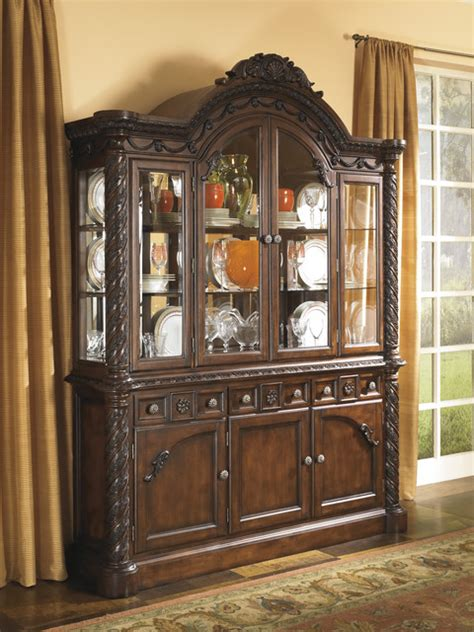 hutch furniture dining room signature design by shore dining room china hutch contemporary china cabinets