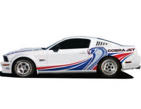 Ford Graphics Graphics Upgrade 2010 Cobra Jet Part Details For M