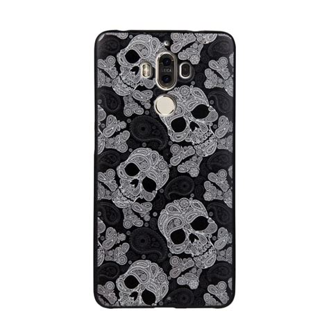 Softcase For Huawei Mate 9 by Design 3d Softcase Hoesje Huawei Mate 9 Schedel Mate