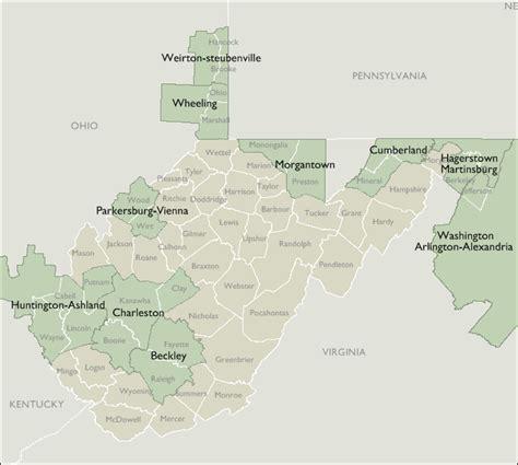 zip code map west virginia metro area zip code maps of west virginia