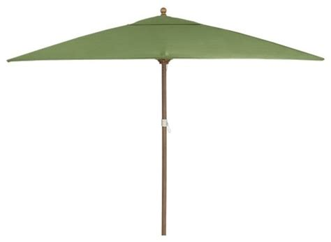 rectangular sunbrella cilantro umbrella with eucalyptus