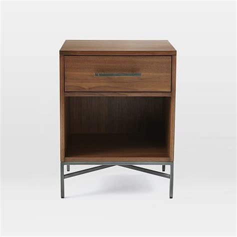 walnut nightstand city storage nightstand walnut west elm