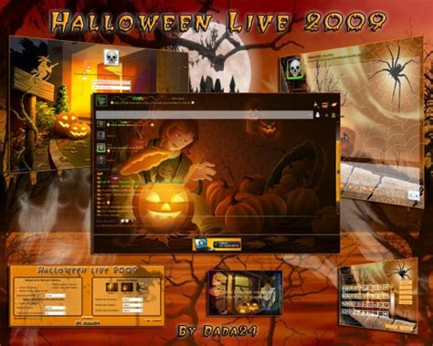 halloween themes for windows halloween theme for windows live messenger