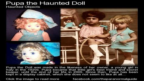 haunted doll pupa the shocking true story of pupa the haunted doll