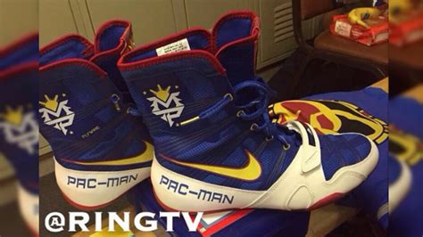 mayweather shoe photo pacquiao s boxing shoes for mayweather fight