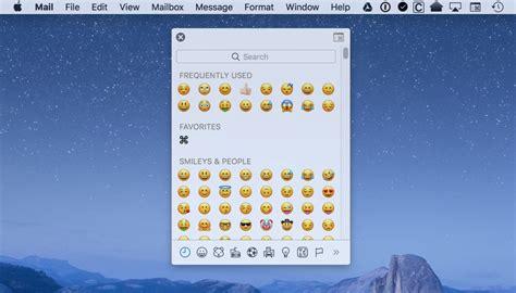 emoji adalah cara memasukkan emojis ke mac insightmac