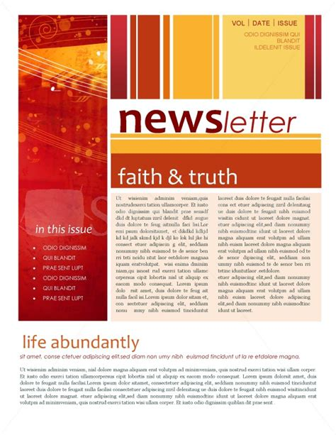 news letter template newsletter template recherche newsletters