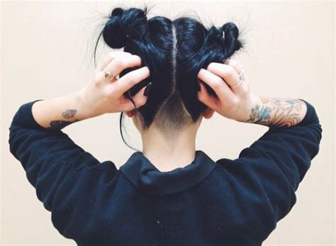 triangle with slight graduation with shaved head 17 best images about hair on pinterest my hair shaved