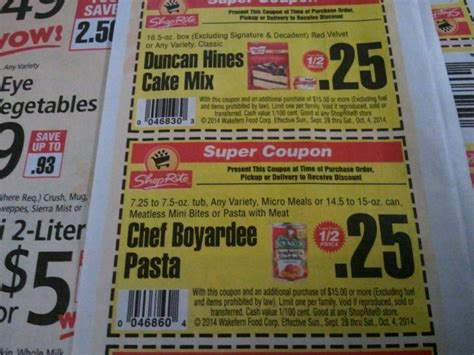shoprite upcoming super coupons   shopportunist