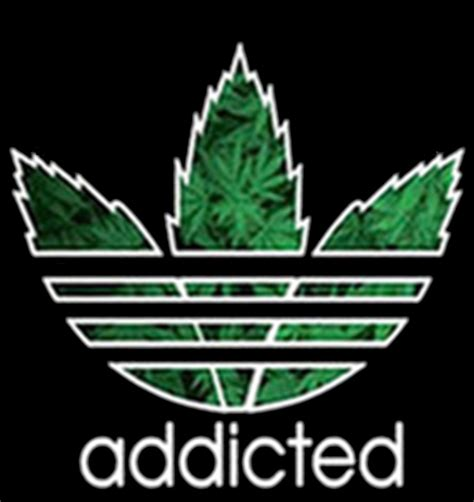 The Addicted T Shirt Logo White hoodie hooded sweatshirt addicted marijuana pot 420 og kush
