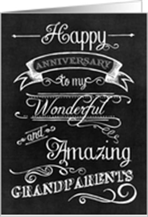 Wedding Anniversary Cards for Grandparents from Greeting