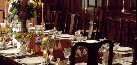 victorian dining room etiquette formal dinner table