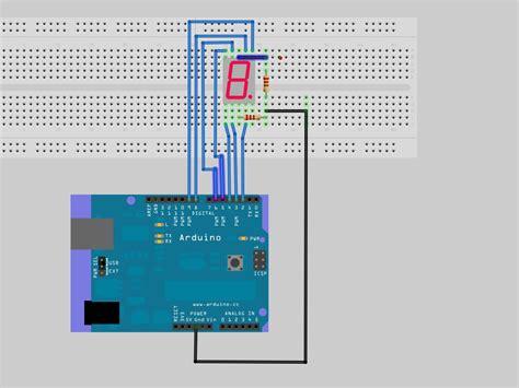 8 Digit Led Display 7 Segments 74hc595 Color Merah program 7 segment display arduino the best in the