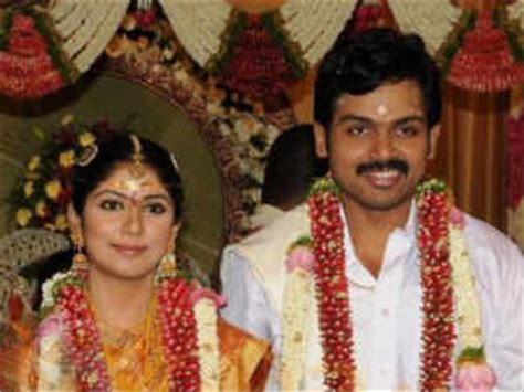 karthi s daughter s name is umayaal filmibeat