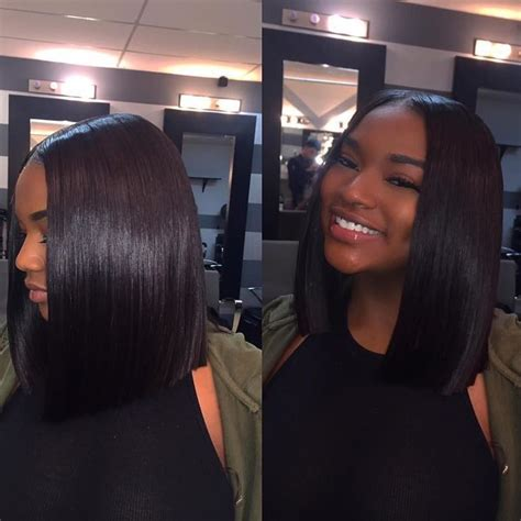 bob weaves for black women instagram 17 best ideas about middle part weave on pinterest