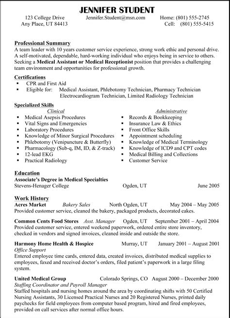 Examples For Skills On A Resumes Good Headlines For