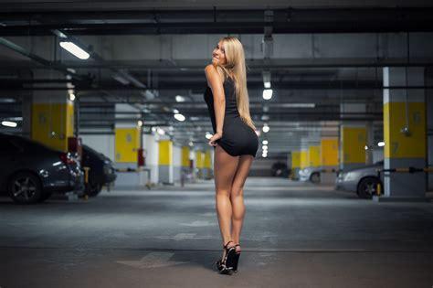 Kb St Minidres Jeslyn mini skirt in car parking hdwallpaperfx