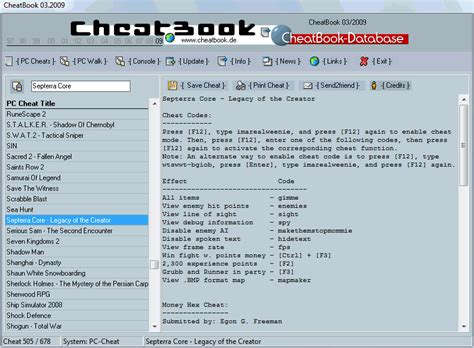 cheatbook 01 2008 issue january 2008 a cheat code tracker with cheatbook issue march 2009 03 2009 cheats hints