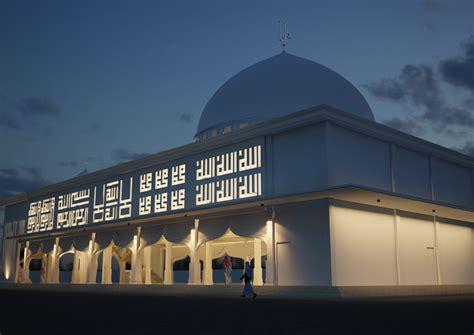 desain masjid timur tengah desain masjid multidesain arsitek