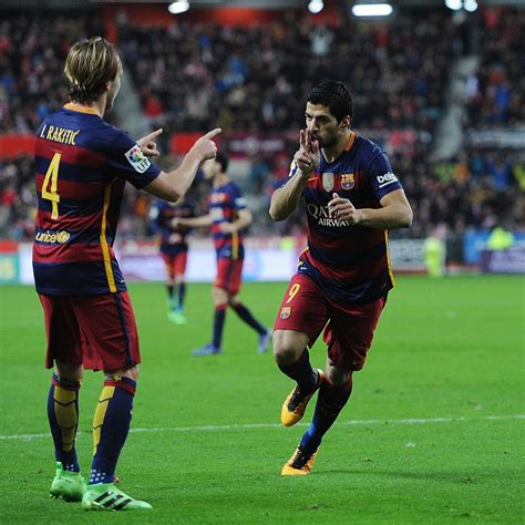 barcelona bleacher report sporting gijon vs barcelona winners and losers from la