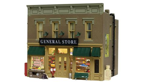 Ready Made Awnings Lubener S General Store Ho Scale Ho Scale Woodland