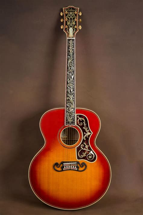 Gitar Akustik Jumbo F100 Custome 337 best gibson jumbo j200 j250 images on