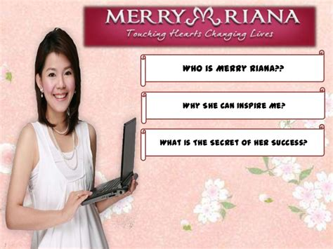 biography of merry riana merry riana the woman who inspire me