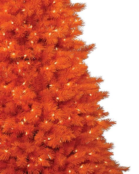 the 100 orange christmas tree or halloween trees treetopia