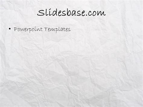 Sketching Ideas Powerpoint Template Slidesbase Paper Powerpoint Template