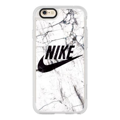 Nike Black Iphone 7 7 Plus Casing Cover Hardcase white and black marble nike iphone 7 iphone 7 plus 40 liked on polyvore