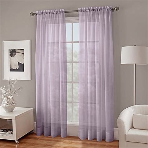 crushed voile sheer curtains crushed voile sheer window curtain panel bedbathandbeyond ca