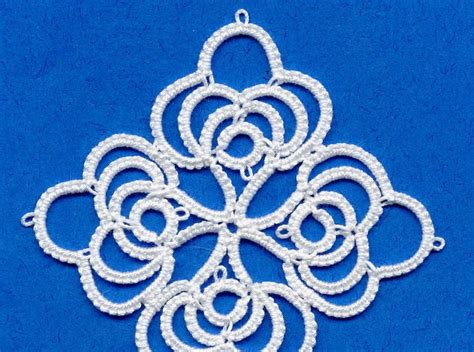 tatting beading and needlework motif 6