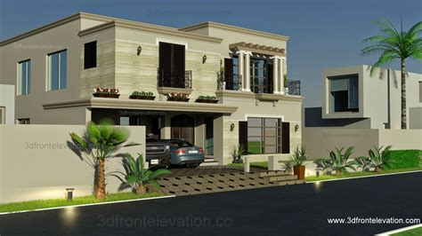 spanish houses designs 3d front elevation com 1 kanal spanish house design plan dha lahore pakistan