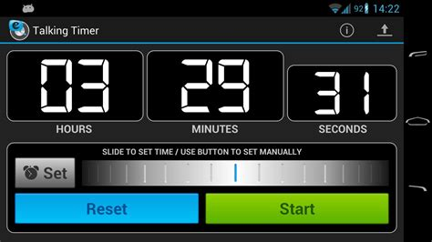 android timer talking timer android apps on play