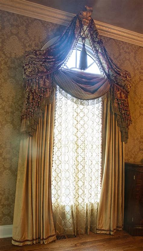 crown molding window treatments inspired window drapes valance small corbel