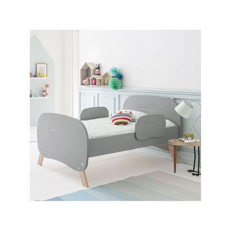 lit pour enfant type 233 volutif 90x140 170 200 couleur gris