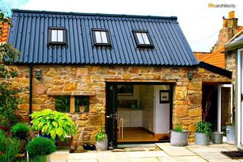cottage kitchen extensions fife architects the professional studio in the east neuk