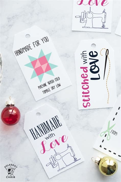 printable gift tags perfect  handmade gifts