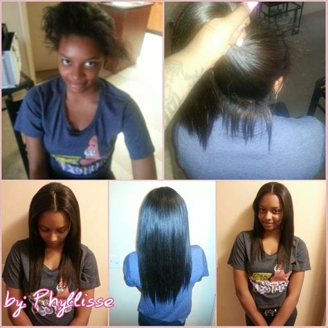 how to leave hair out for sew in pin by natasha mack on beauty pinterest