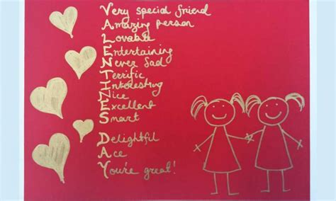 whats a gift for a on valentines day s day acrostic poem kidspot