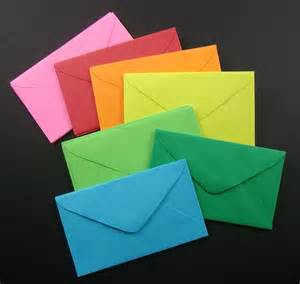 business cards envelopes 42 mini envelopes for business cards and enclosures