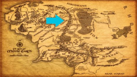 entire middle earth map real inspirations for middle earth in switzerland